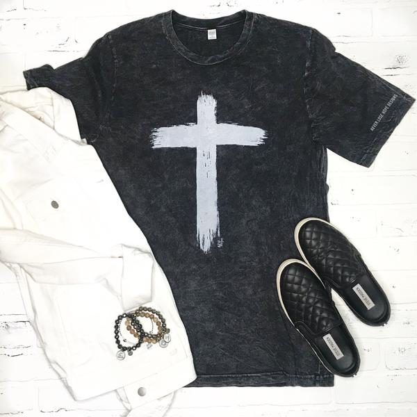 Brushed Cross T-Shirt in sz X-Large $25