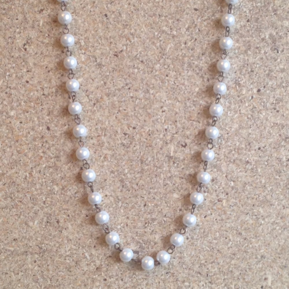 Pearl Beads Necklace $20