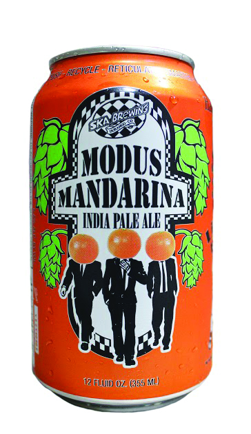Modus Mandarina IPA, 6.8% ABV,  from Ska Brewing