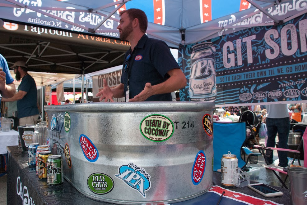 Oskar Blues Photo: @ChadBrattPhotography & #BreckBeerFest