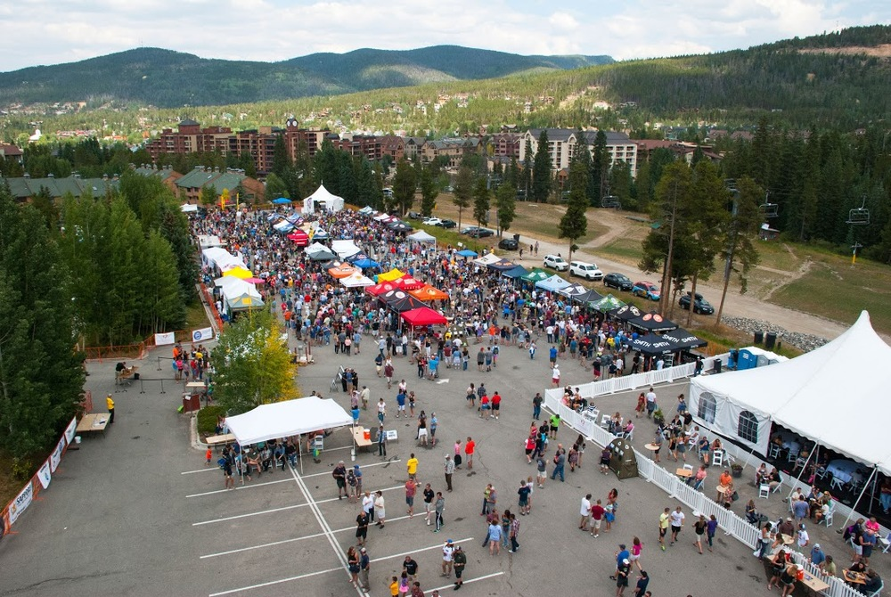 Photo: @ChadBrattPhotography & #BreckBeerFest