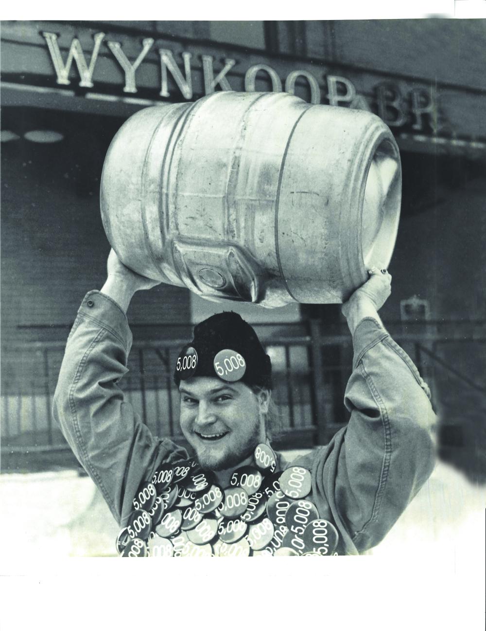 former Wynkoop brewer Kyle Carstens (top) provided by Breckenridge-Wynkoop