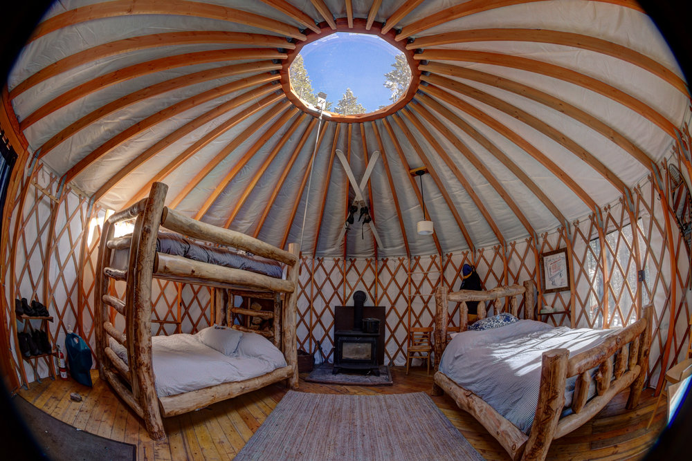 Tennessee Pass Sleep Yurts - Photo: Tim Gormley Jr.