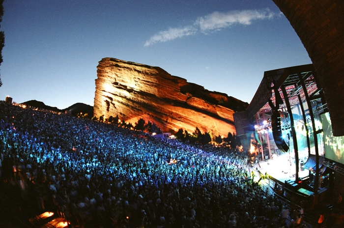 Photo Courtesy of Red Rocks Park and Ampitheatre