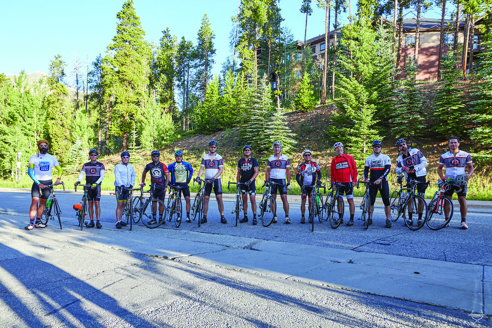 Creating, crushing and pedaling their way across the state, participants of the Bouldurango from the past two years are shown.