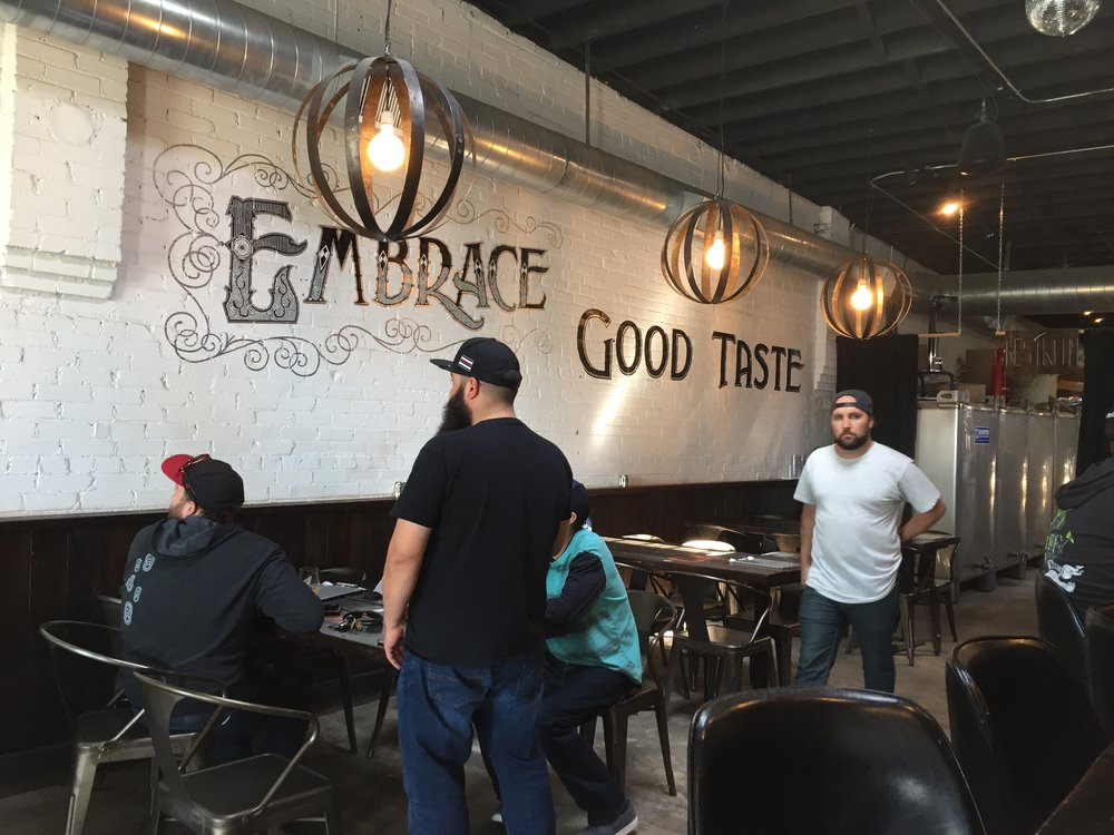 Black Project Spontaneous & Wild Ales taproom on S. Broadway