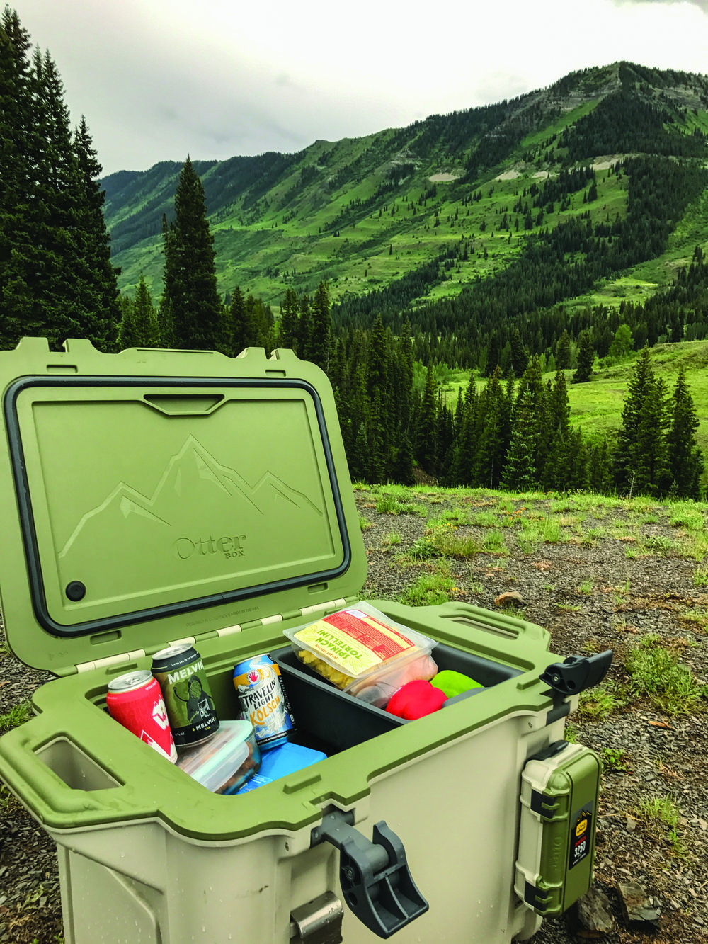 don't be caught off guard in the wilderness: the Otterbox Venture Cooler will keep beer and food cold for days on end.
