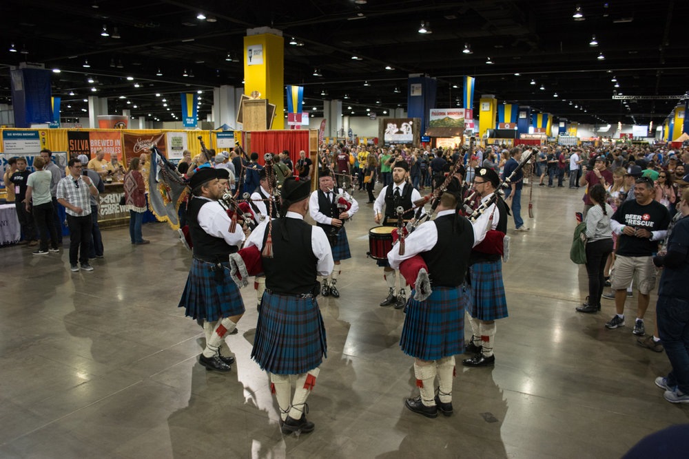 The Great American Beer festival featured some 3800 beers from over 800 breweries.