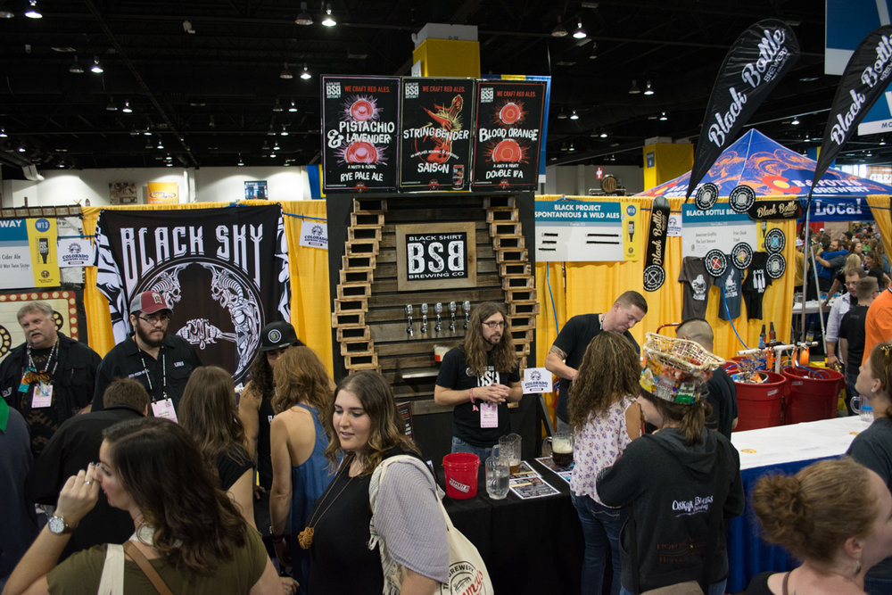Black Shirt Brewing's music themed brews were a huge hit this year at GABF, headlined by a Pistachio & Lavender rye pale ale
