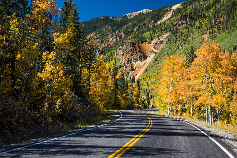 Red Mountain Pass never seems to disappoint when the colors start to turn. Photo - Neill Pieper