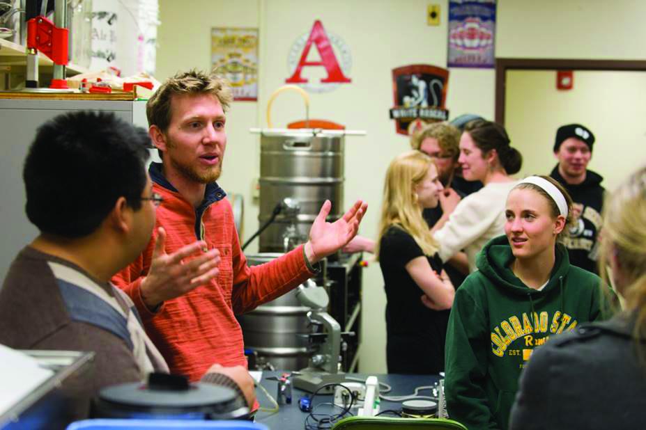 Photo provided by CSU fermentation science program