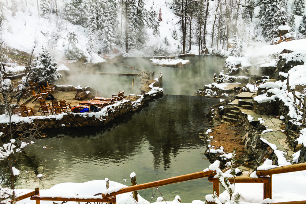 Strawberry Park Hot Springs 123RF/Teri Virbickis