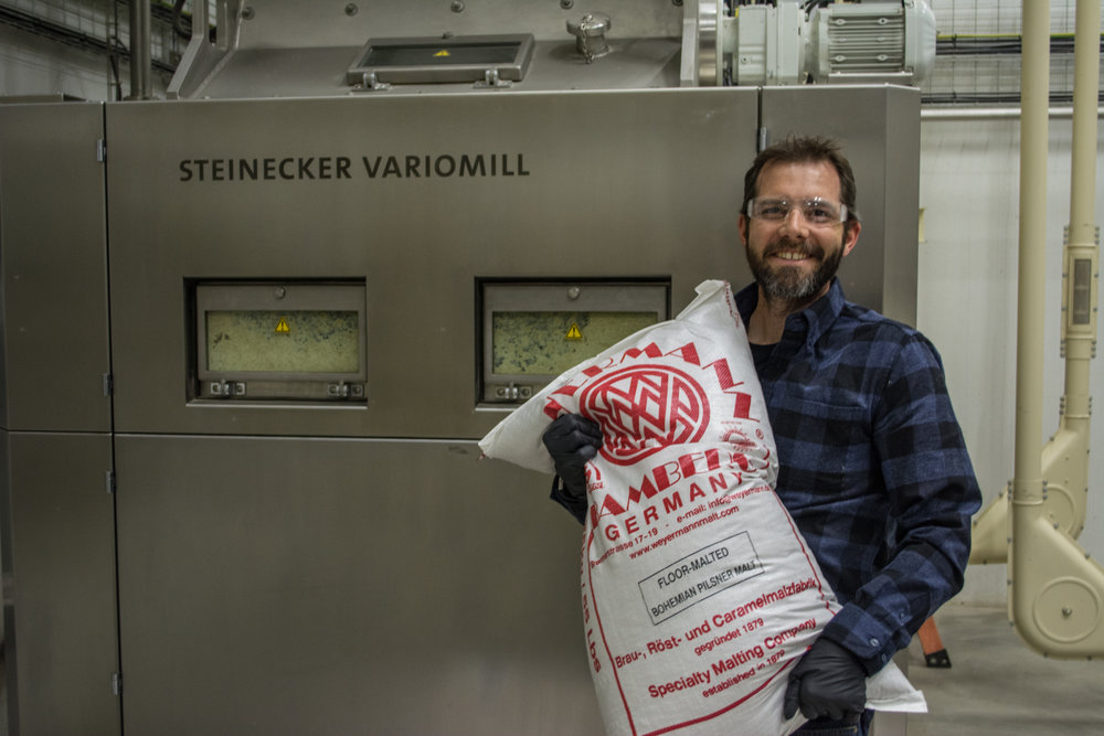 Avery Brewing Co.'s Travis Rupp took time out of his busy schedule for a few photos at the brewery.