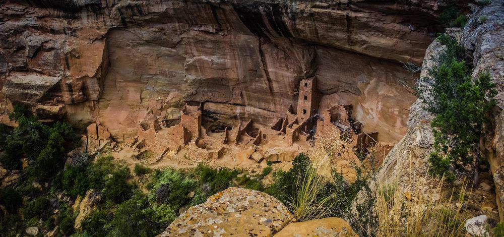 Mesa Verde National Park.  Photo Neill Pieper