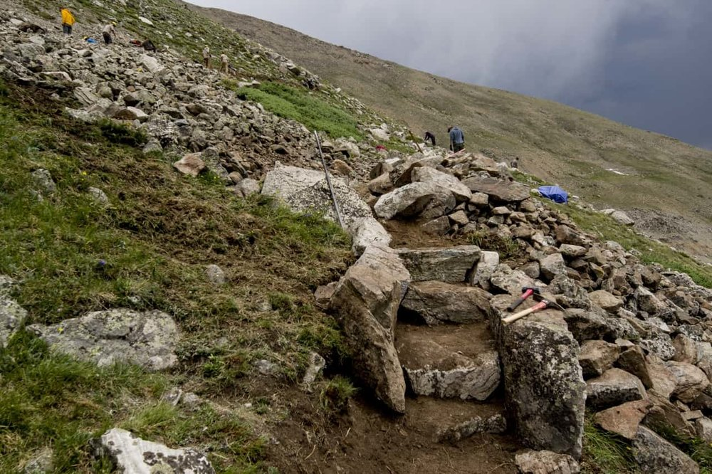 Photos Courtesy Colorado Fourteeners Initiative Website