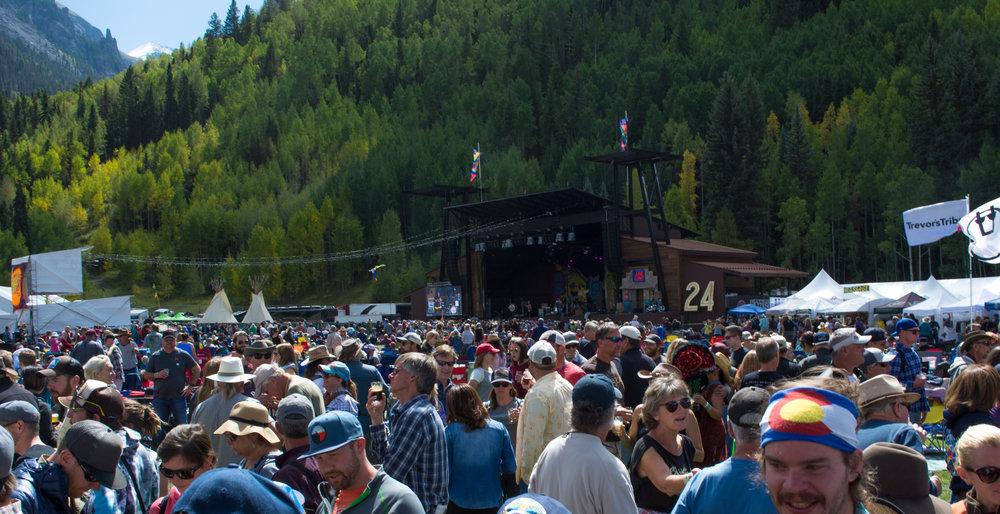 The Telluride Blues & Brews Fest. Photo Neill Pieper
