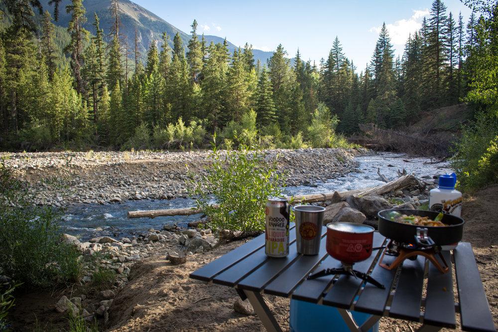 Beautiful camping awaits near Salida.  Photo Neill Pieper