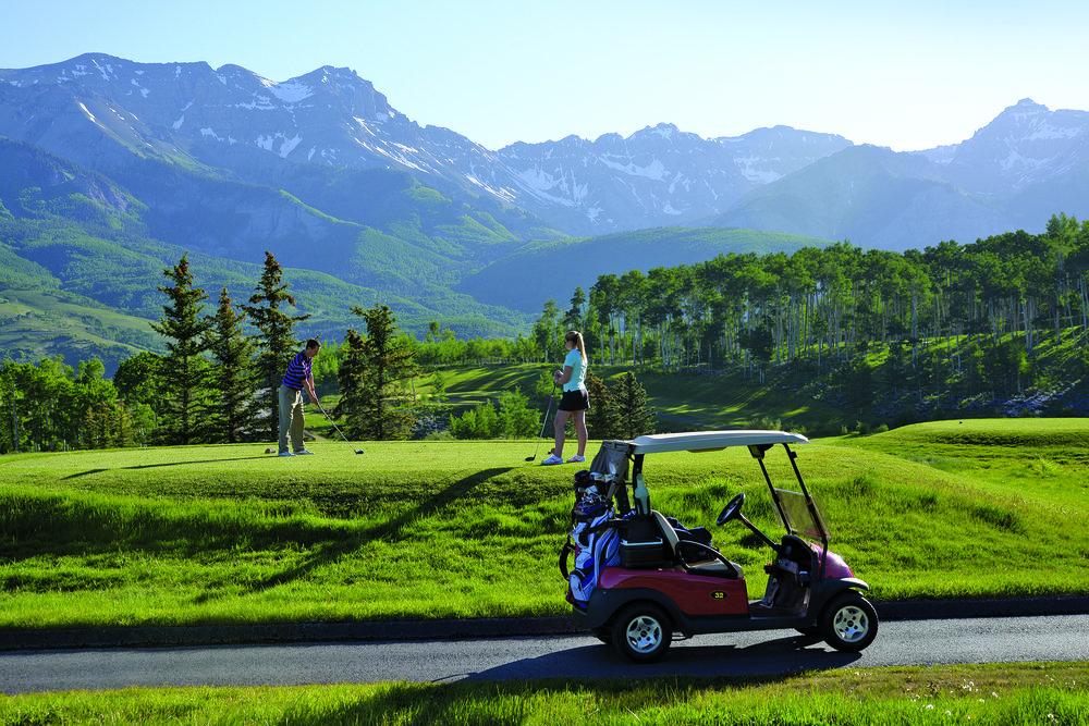 Telluride Golf Club. Photo: Telluride Ski Resort | Brett Scheckengost