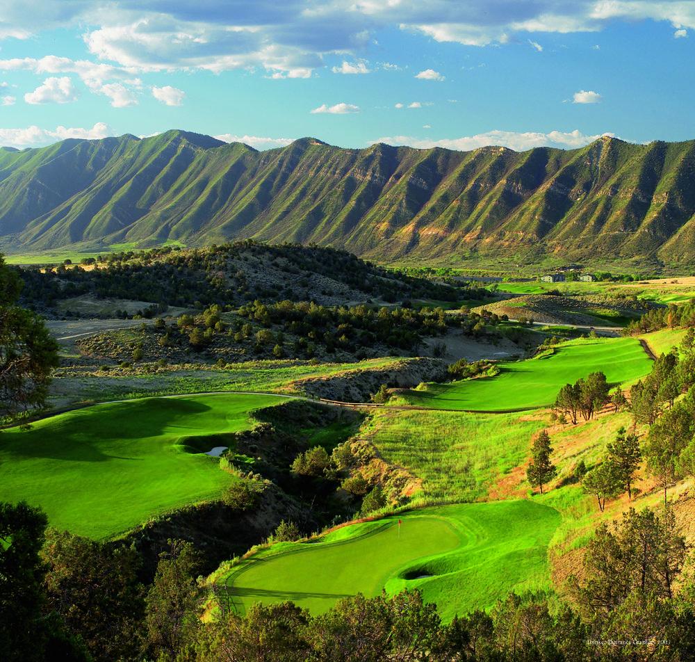 Lakota Canyon.  Photo courtesy Colorado Golf Association