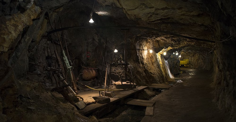 Photo courtesy Old Hundred Gold Mine Tour