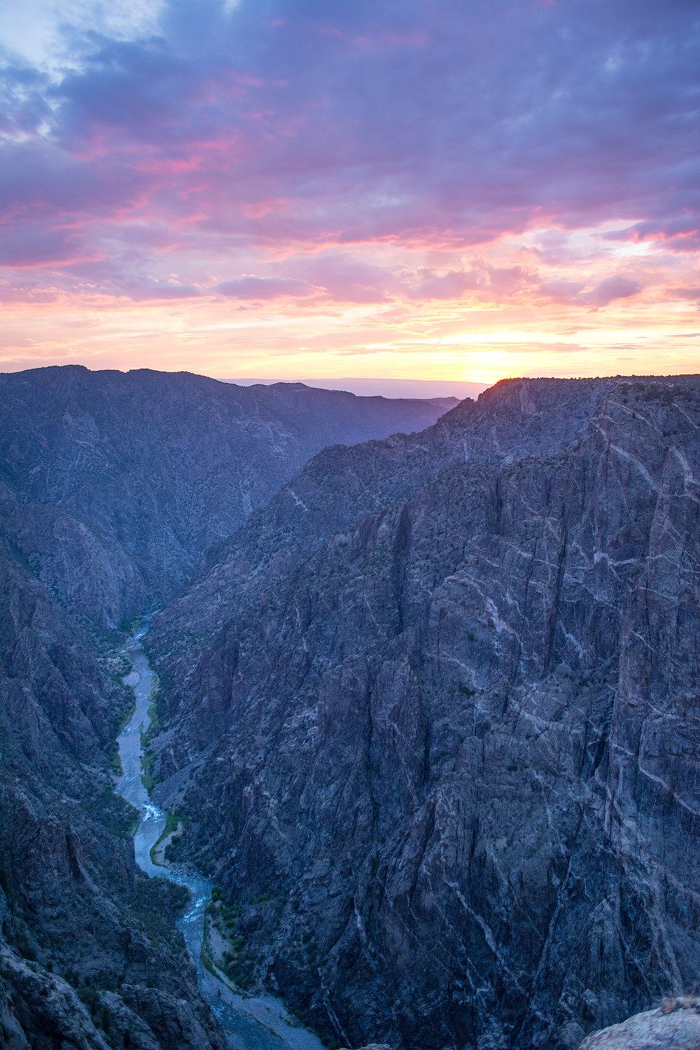 South Rim Black Canyon.  Photo Neill Pieper