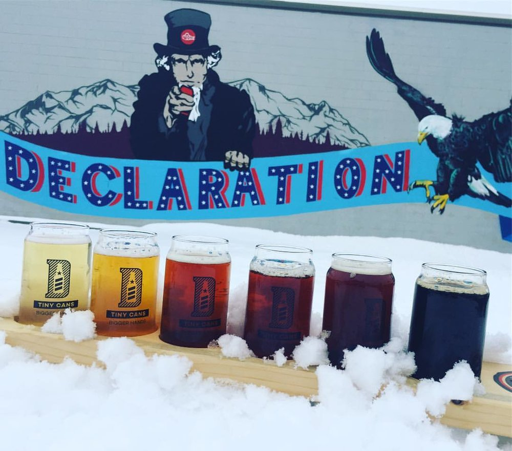 Photo courtesy: Declaration Brewing Facebook Page