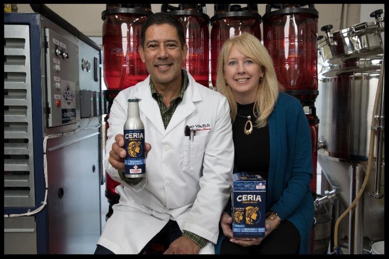 CERIA'S Keith and Jodi Villa. Photo: Michael Allen