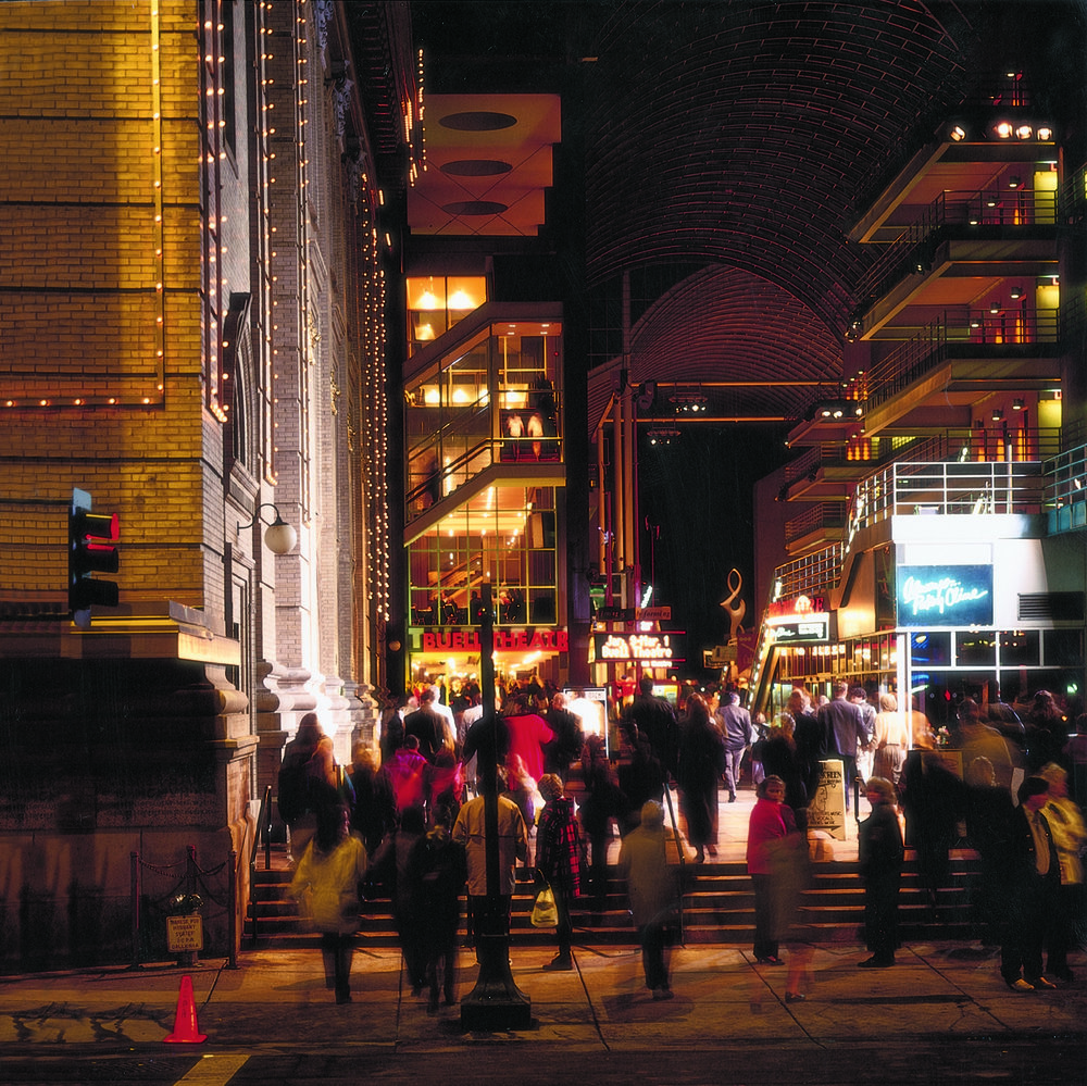 The Denver Center for the Performing Arts hosts numerous shows during the holidays.