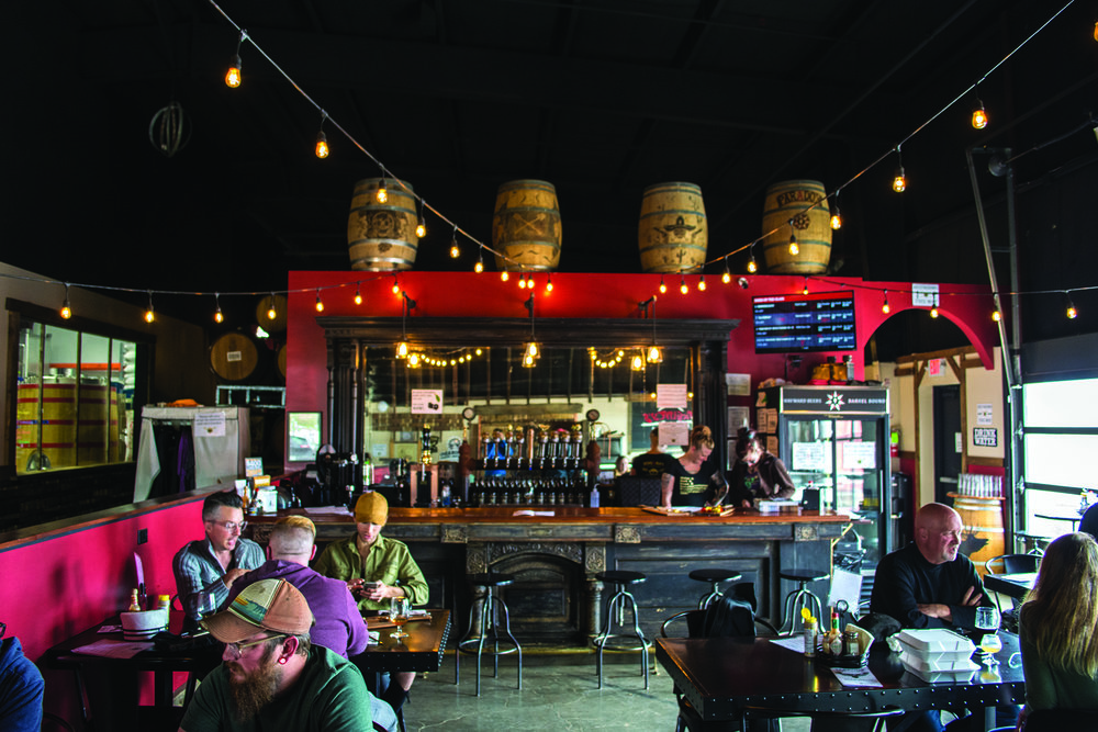 The Paradox Beer Co. Taproom. Photo: Neill Pieper