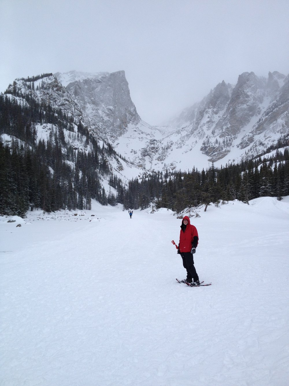 Snowshoeing in Rocky Mountain National Park. Photo: Joe Ross