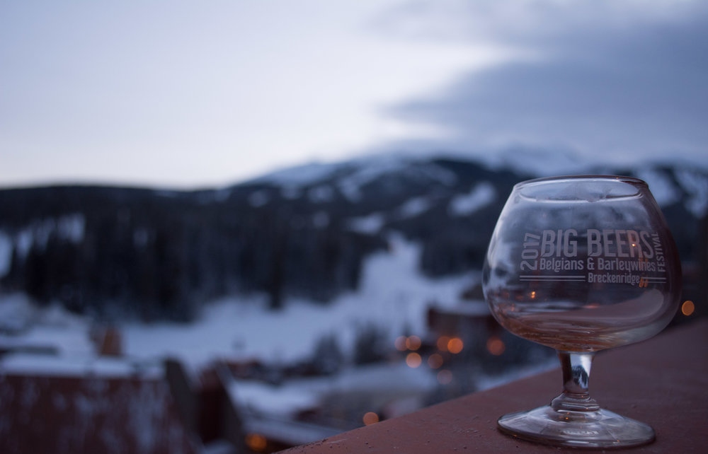 The Big Beers, Belgians, and Barleywines Festival kicks off beneath the slopes of Breckenridge Mountain Resort. Photo: Neill Pieper