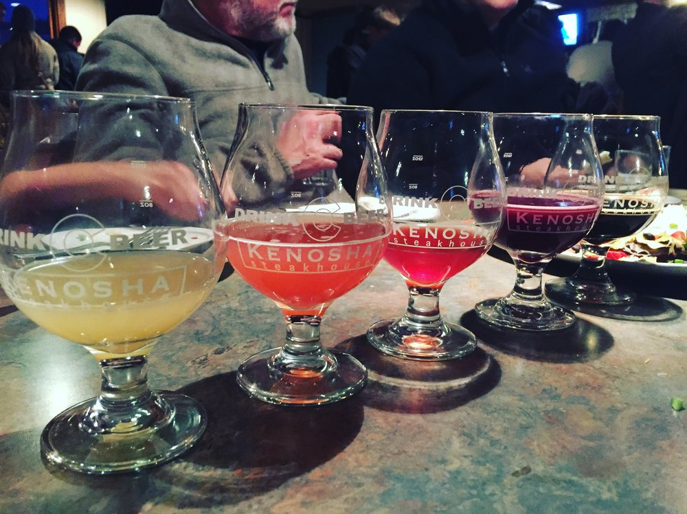 The Kenosha Steakhouse held numerous tap takeovers throughout the weekend. Photo: Neill Pieper
