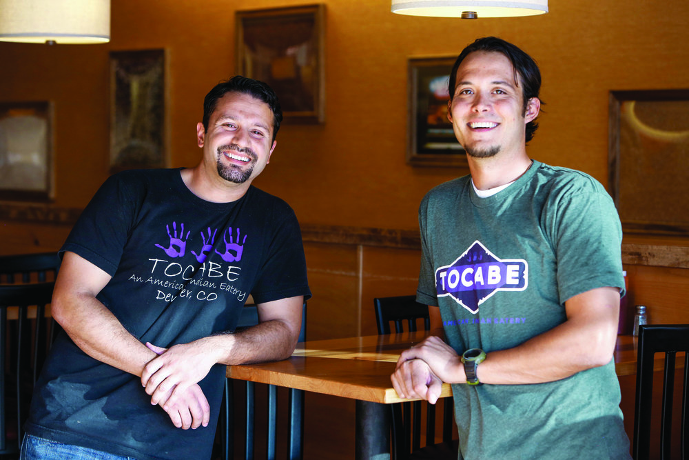 Tocabe owners Matt Chandra and Ben Jacobs. Photo courtesy of Tocabe