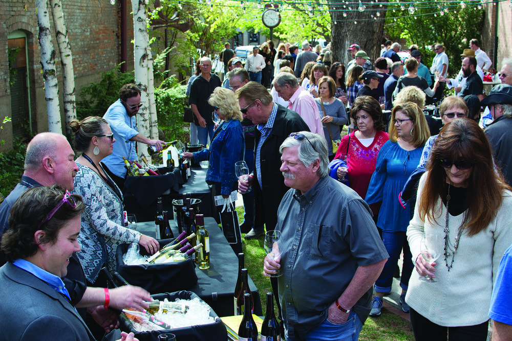 The Durango Wine Experience is the perfect springtime escape to southwest Colorado. Locals and tourists alike flock to the weekend festival. Photos: Neill Pieper