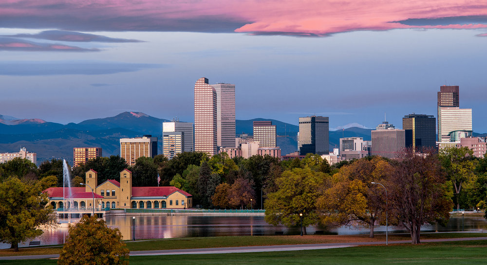 Denver Skyline Cash Register Building Photo by City of Denver