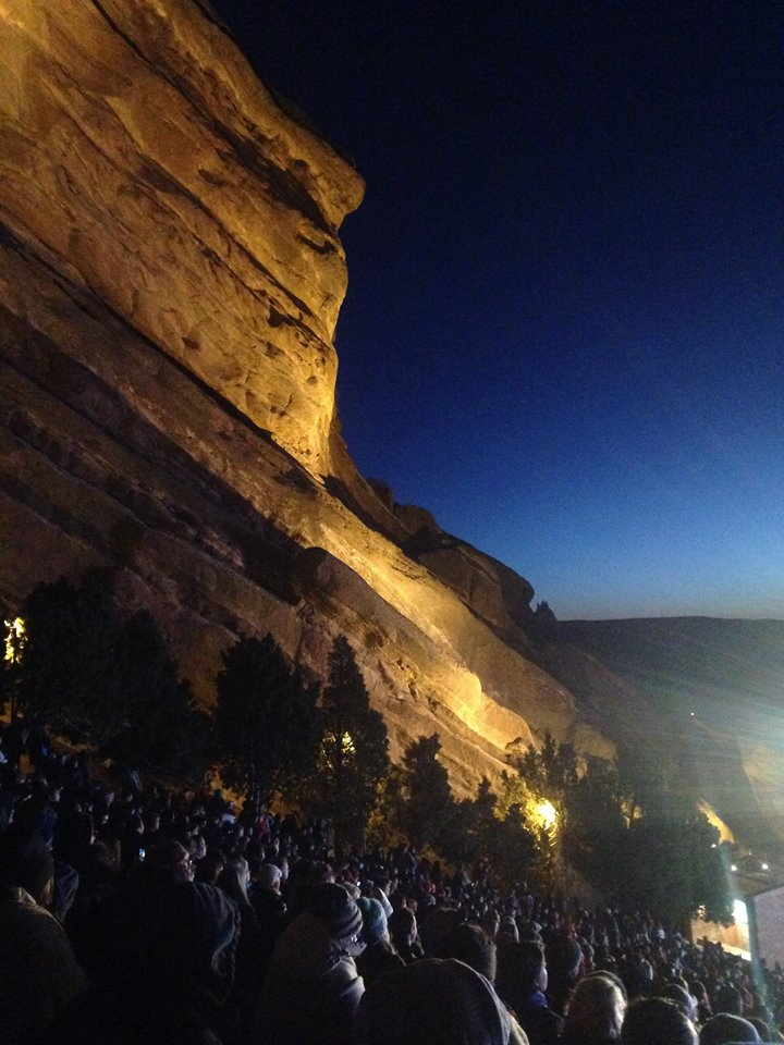 Red Rocks Amphitheater Photo by Lisa McIntyre