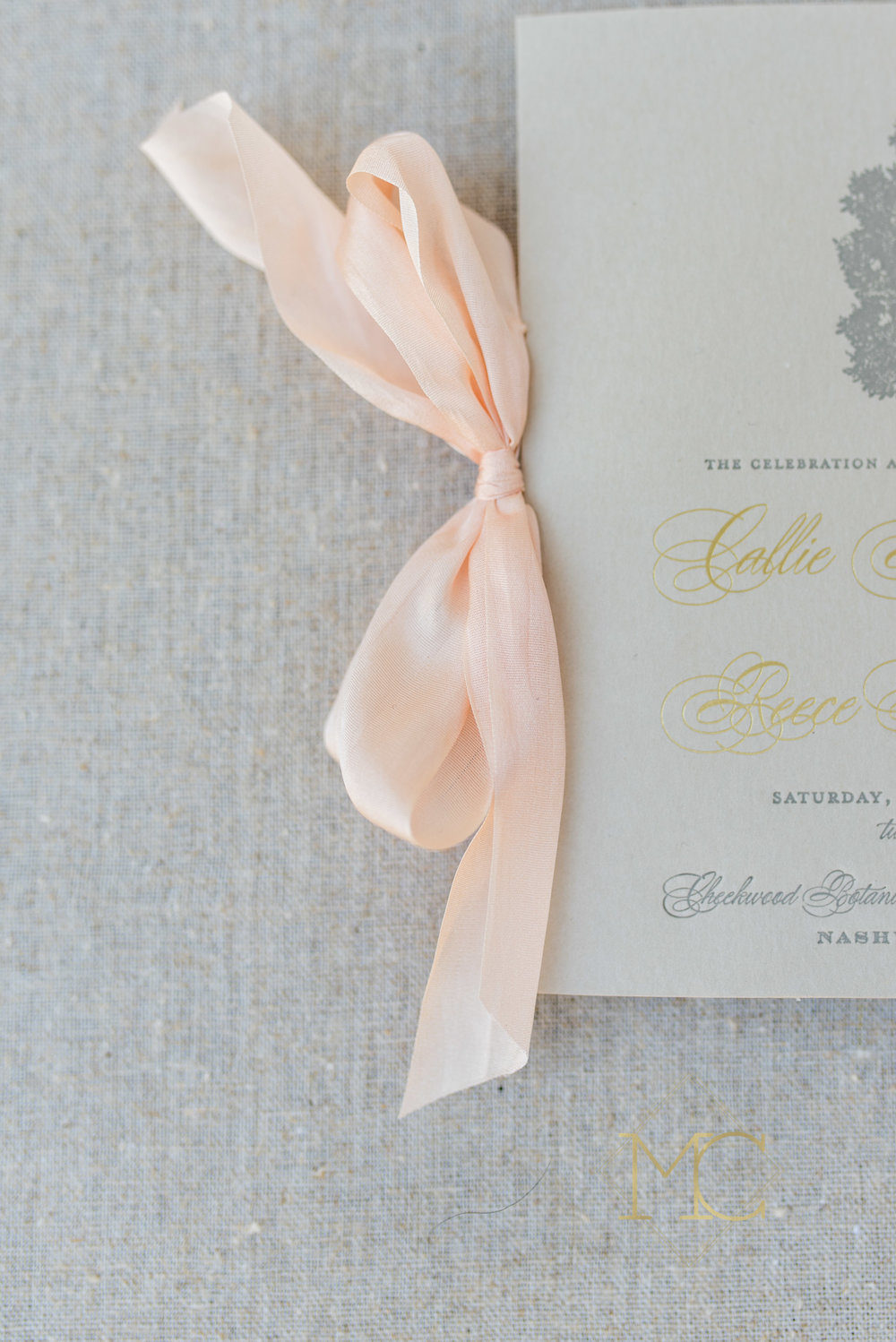 image of nashville stationary and graphic designer fine paper wedding invitations and cards