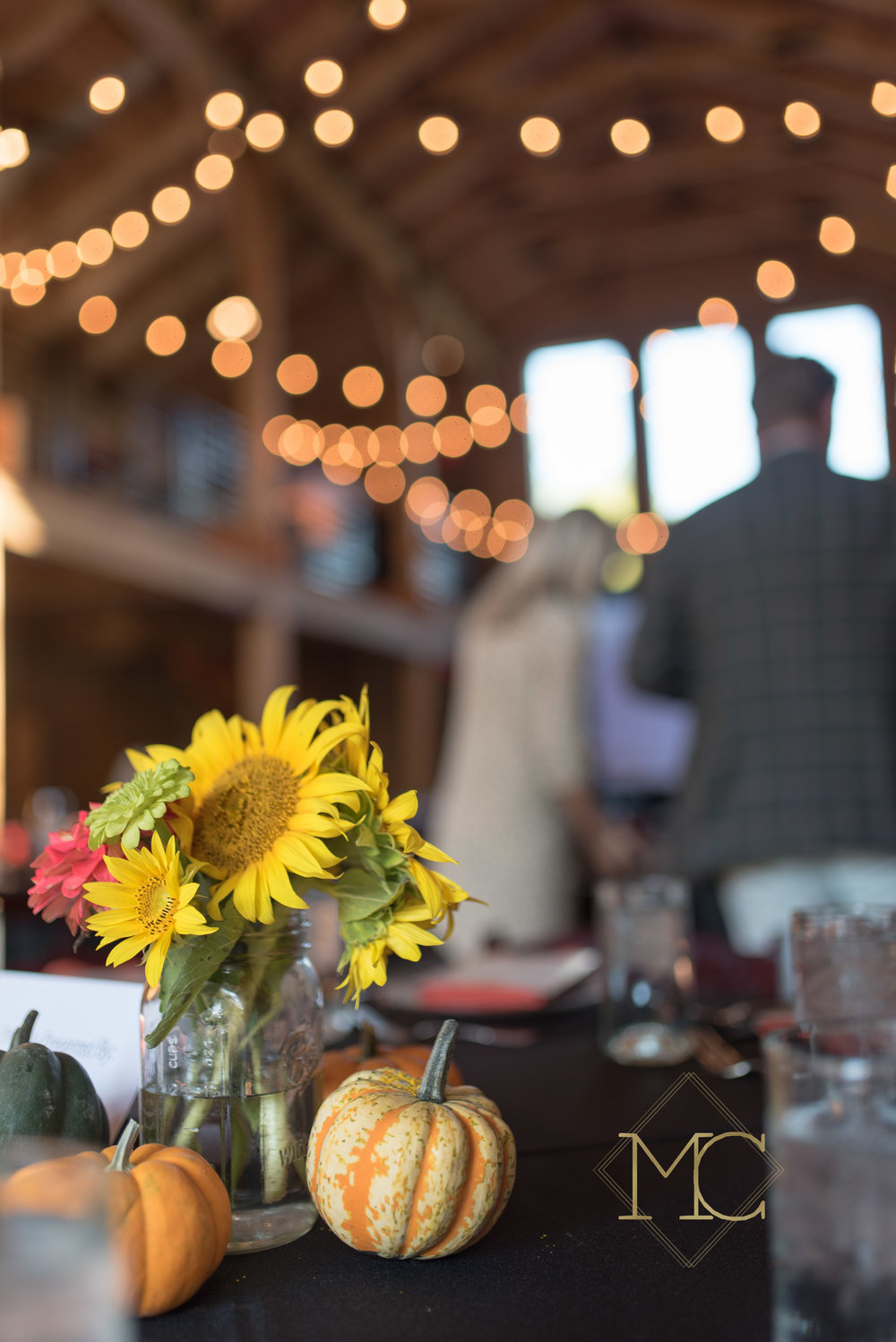 image from multiple sclerosis fall crush event of table centerpiece arrangements nashville