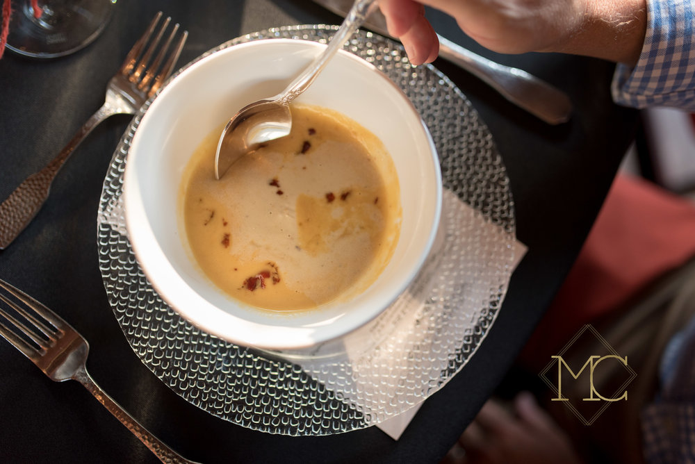 image from multiple sclerosis nashville event of chef hal holden-bathe of lockeland table nashville soup