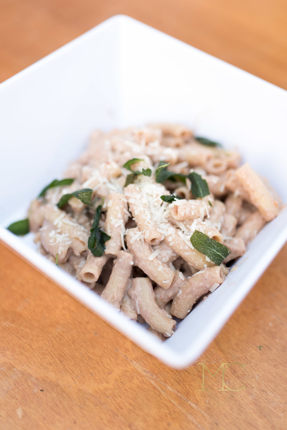 image from multiple sclerosis nashville event of liver pate pasta by chef travis mcshane from adele's nashville