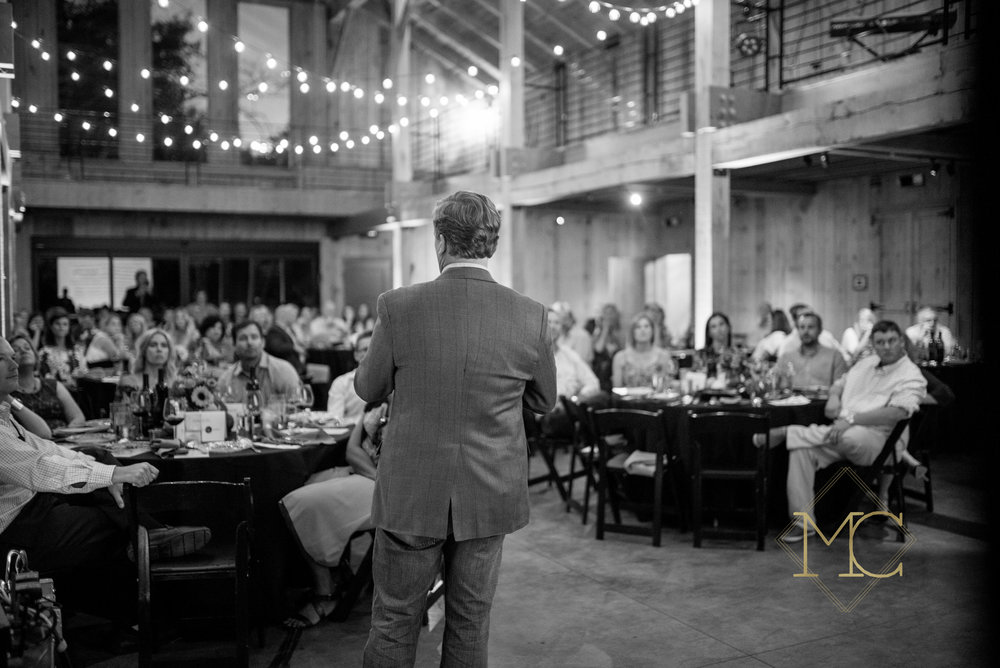 image from multiple sclerosis nashville event of speaker talking to the crowd