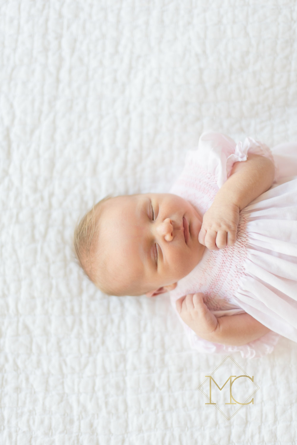 image from nashville newborn lifestyle photo session of baby girl