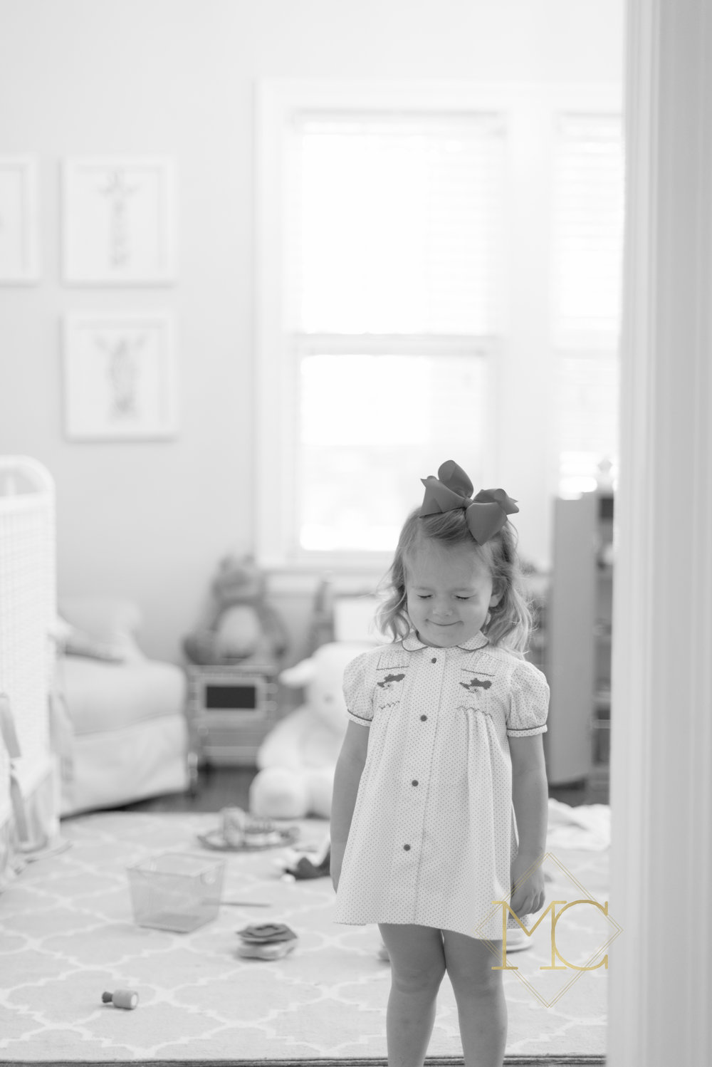 image from nashville lifestyle family photo session of toddler