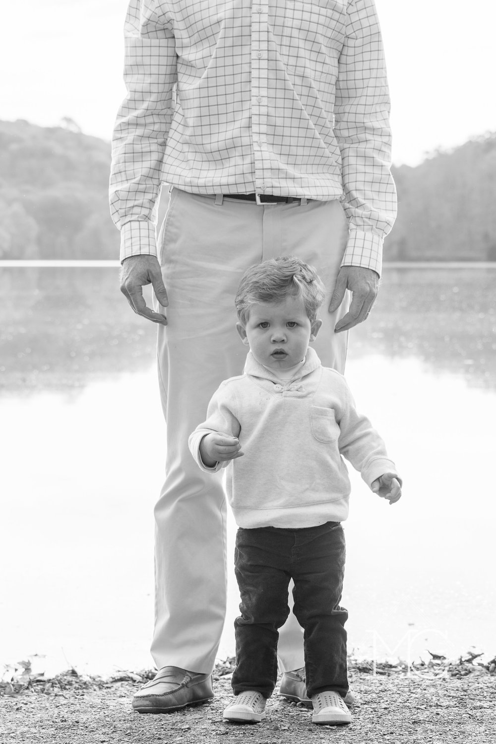 image from a fall nashville family lifestyle photo shoot at radnor lake
