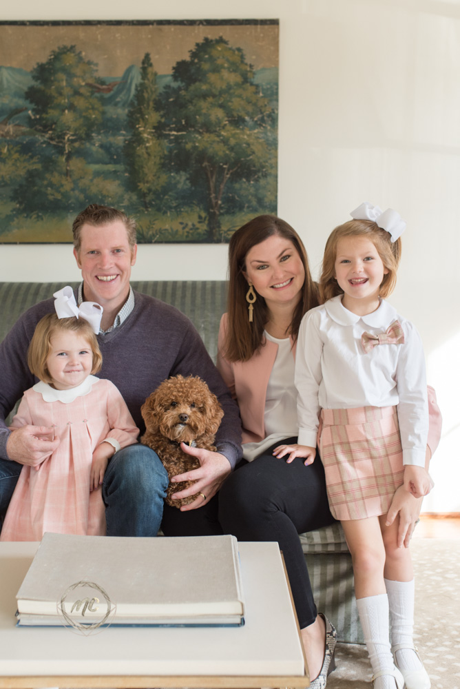 image from a nashville lifestyle family photo session in home in belle meade Tennessee