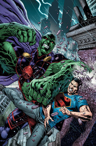Martian Manhunter #2 How long has it been since we've seen J'onn in his own series? The first issue was a fantastic start to the series where we learn that J'onn might not be the last of his kind after all. As you can see from the cover, this is an action-packed issue that you won't want to miss!
