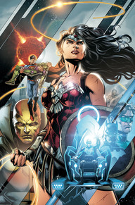Justice League #42 It's part two of the Darkseid War! It's been a huge relief to see Mister Miracle in a post Convergence title, especially when drawn by the incredible Jason Fabok. We get to see some more of the Anti-Monitor andyou'll never believe what Batman does at the end, this issue is a must read.