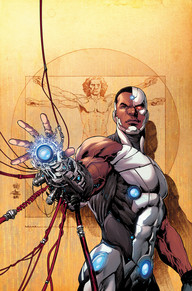 Cyborg #1 Cyborg is in his own on-going series now and it's an excellent start.  We always see the machine when he's out fighting bad guys with the Justice League, now we get to see the man and what goes through his head.  Something crazy is happening to Cyborg's body and no one at S.T.A.R. Labs is sure what it is.  Ivan Reis and Joe Prado give us some phenomenal art to what is shaping up to be a fun series.