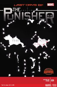 "Punisher #20 The last couple issues of Punisher have been very ""real"" as far as Frank Castle being a mercenary.  Punisher wearing a mask makes the character more intimidating, adding to the scare factor that was already there.  They claim this is a last issue, but the way it ended makes me not so sure."