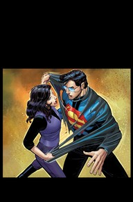 Superman #42 John Romita Jr.'s art in this book isn't my favorite, but I am interested in seeing how Superman became de-powered and how he has become an outcast to Metropolis.